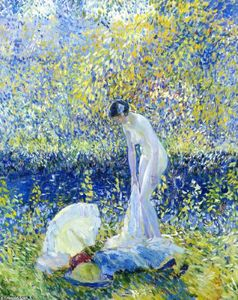 Frederick Carl Frieseke - Cherry Blossoms 1