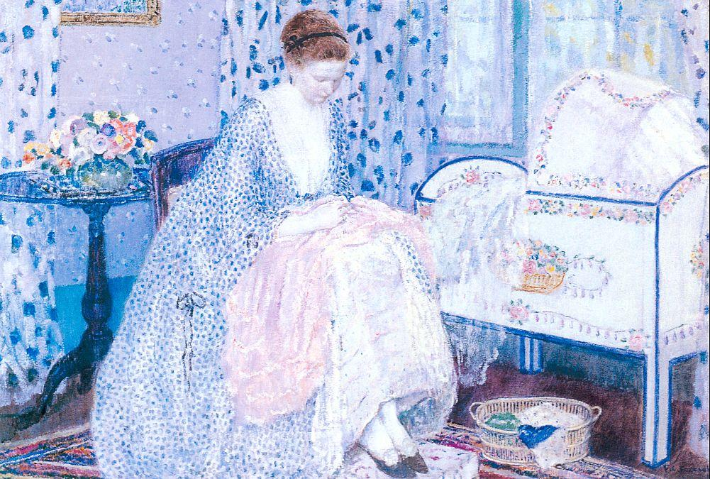 famous painting Peace of Frederick Carl Frieseke