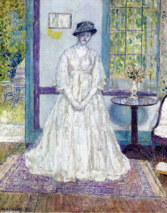 famous painting Summer Morning of Frederick Carl Frieseke