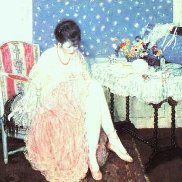 famous painting Torn Lingerie of Frederick Carl Frieseke