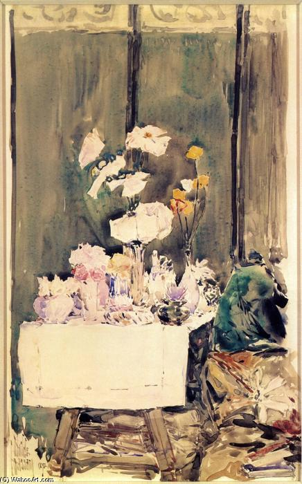famous painting A Favorite Corner of Frederick Childe Hassam