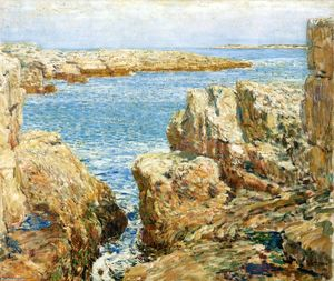 Frederick Childe Hassam - Coast Scene, Isles of Shoals
