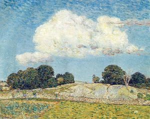 Frederick Childe Hassam - Dragon Cloud, Old Lyme
