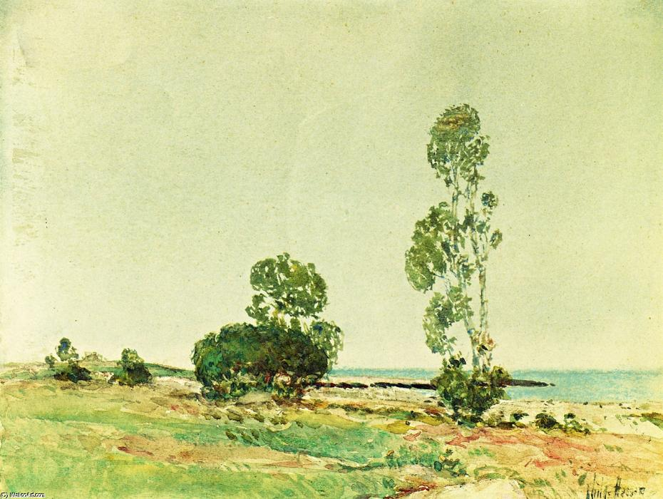 famous painting East Hampton of Frederick Childe Hassam