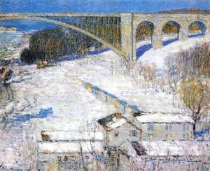 Frederick Childe Hassam - High Bridge