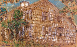 Frederick Childe Hassam - Home Sweet Home Cottage