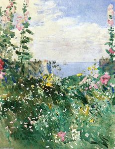 Frederick Childe Hassam - Isles of Shoals Garden, Appledore