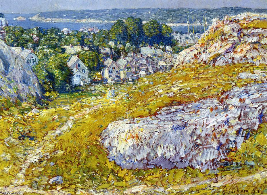 famous painting Norman's Woe, Gloucester, Massachusetts of Frederick Childe Hassam