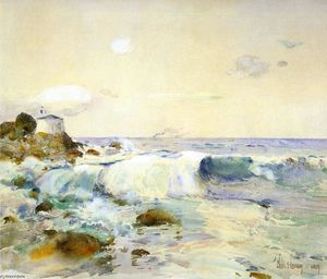 Frederick Childe Hassam - On the Brittany Coast