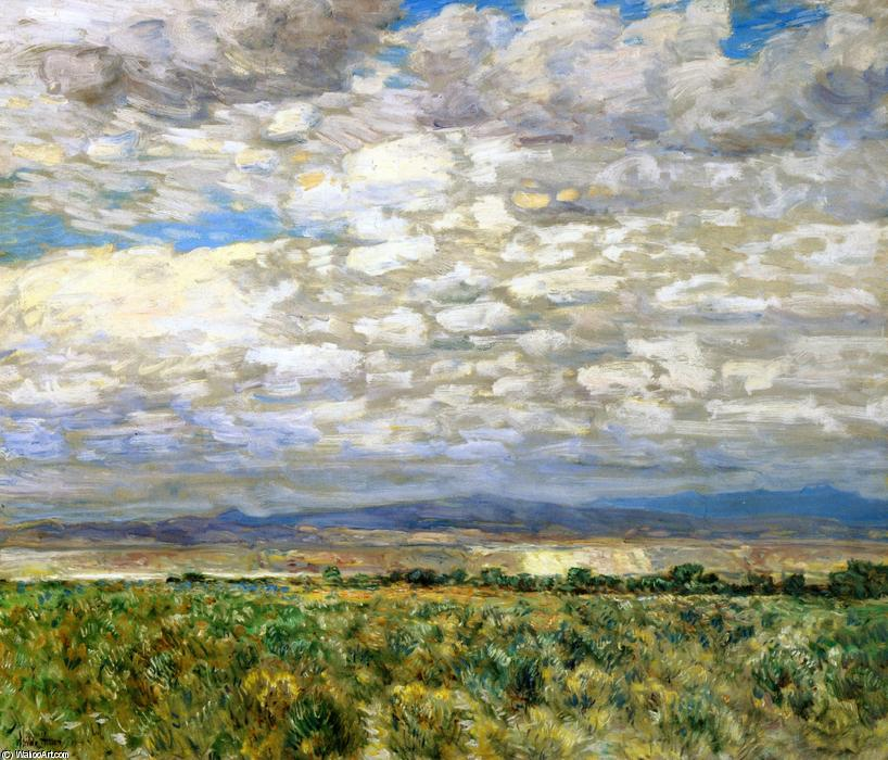 famous painting On the Snake River, Oregon of Frederick Childe Hassam