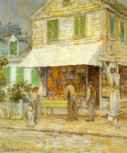 Frederick Childe Hassam - Provincetown Grocery Store