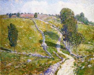 Frederick Childe Hassam - Road to the Land of Nod