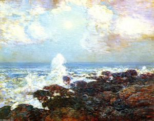 Frederick Childe Hassam - Seascape - Isles of Shoals
