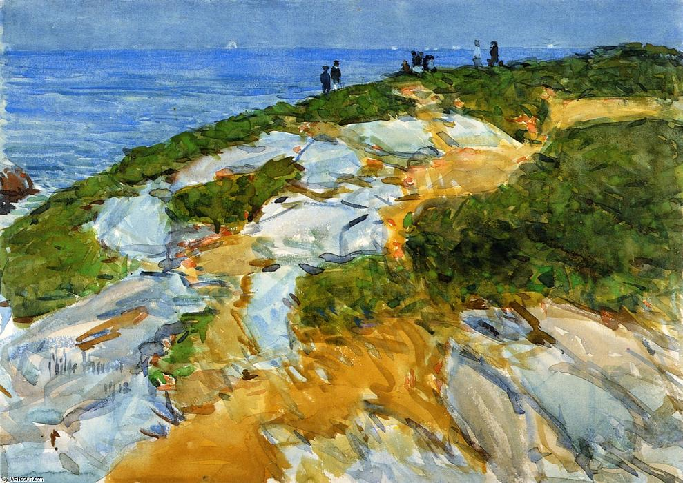 famous painting Sunday Morning, Appledore of Frederick Childe Hassam