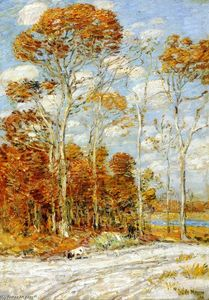 Frederick Childe Hassam - The Hawk's Nest