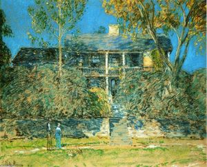 Frederick Childe Hassam - The Holly Farm