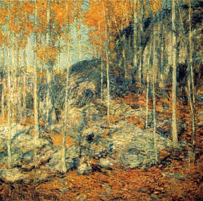 famous painting The Ledges of Frederick Childe Hassam