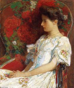 Frederick Childe Hassam - The Victorian Chair