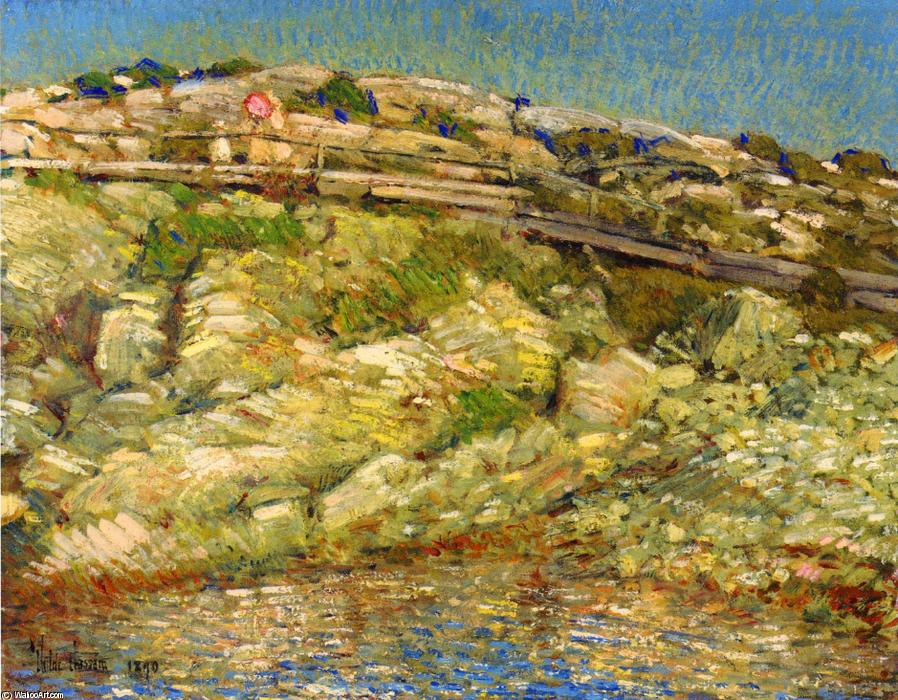 famous painting Walk Around the Island of Frederick Childe Hassam
