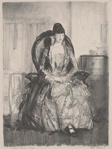 George Wesley Bellows - Emma in a Chair