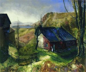 George Wesley Bellows - Mountain Farm