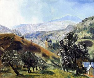 George Wesley Bellows - Mountain Orchard