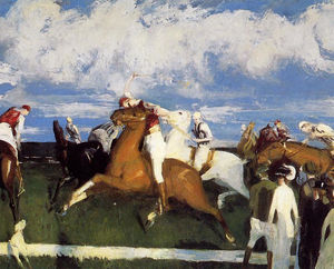 George Wesley Bellows - Polo Game