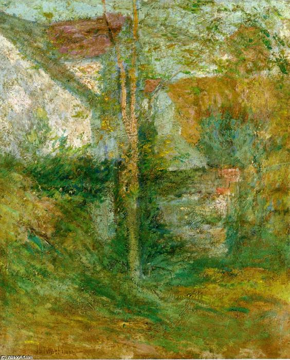 famous painting Afternoon Shadows of John Henry Twachtman