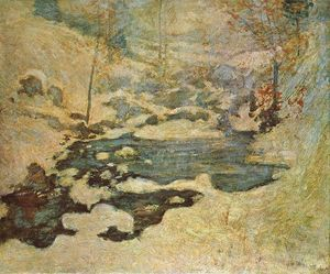 John Henry Twachtman - Beneath the Snow