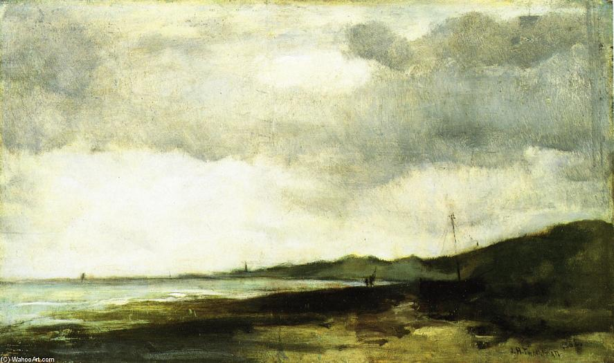 famous painting Coastal View of John Henry Twachtman