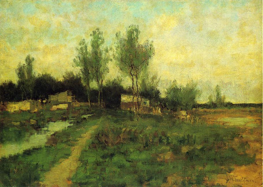 famous painting Country Path of John Henry Twachtman