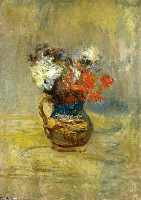 famous painting Flower Still Life of John Henry Twachtman