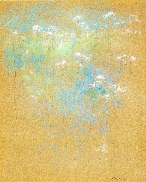 famous painting Flowers of John Henry Twachtman