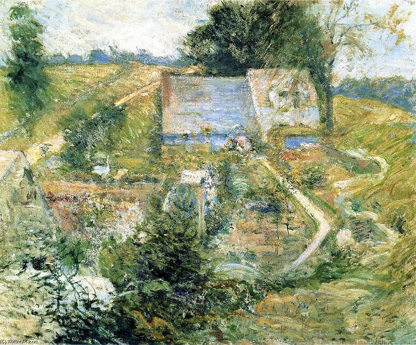 famous painting From the Upper Terrace of John Henry Twachtman