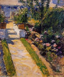 John Henry Twachtman - In the Garden