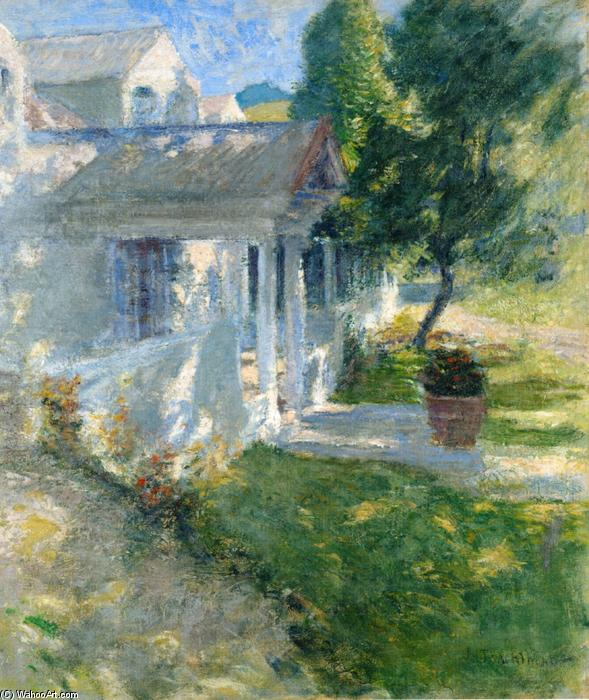 famous painting My House of John Henry Twachtman