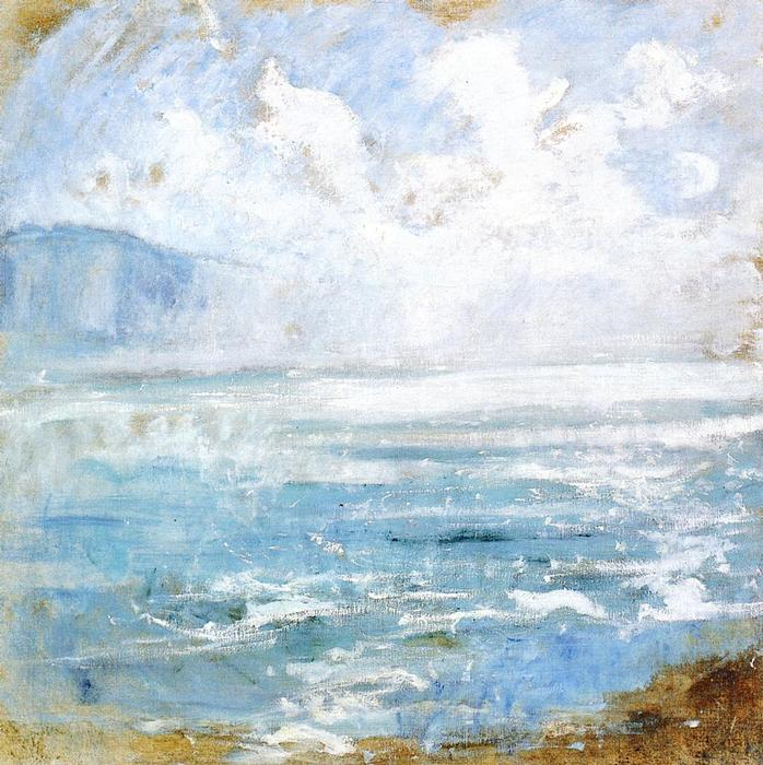 famous painting Niagara Gorge of John Henry Twachtman