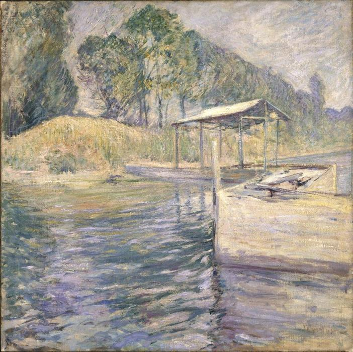 famous painting Reflections of John Henry Twachtman