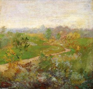 John Henry Twachtman - Road over the Hill