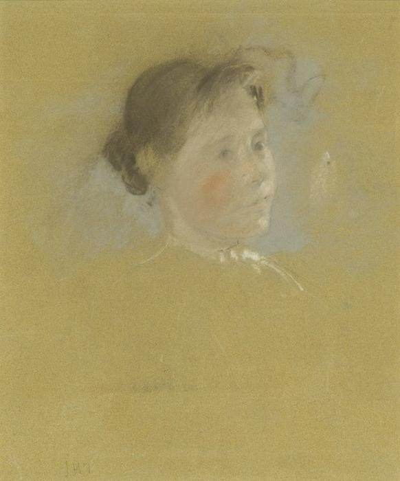 famous painting Study of a Head of John Henry Twachtman