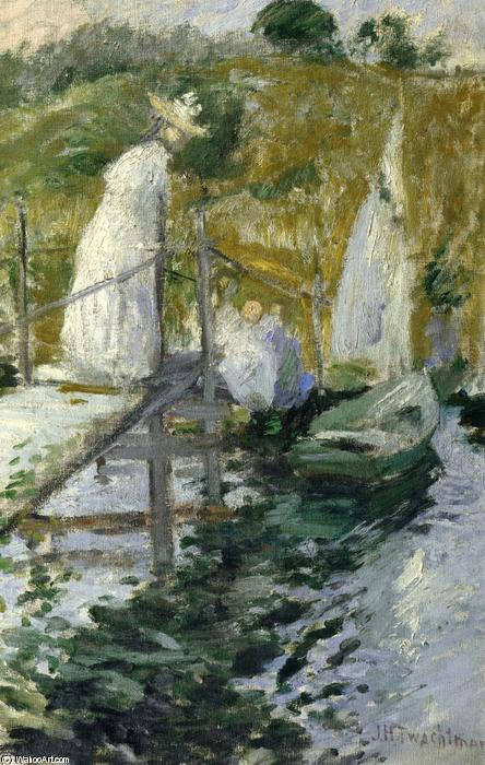 famous painting Summer Afternoon of John Henry Twachtman