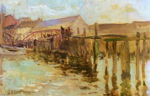 John Henry Twachtman - The Inlet 1