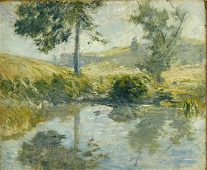 John Henry Twachtman - The Pool