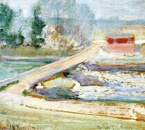 John Henry Twachtman - View from the Holley House