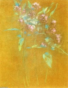 John Henry Twachtman - Wildflowers 1