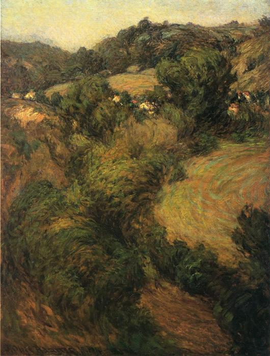 famous painting Across the Valley of John Ottis Adams