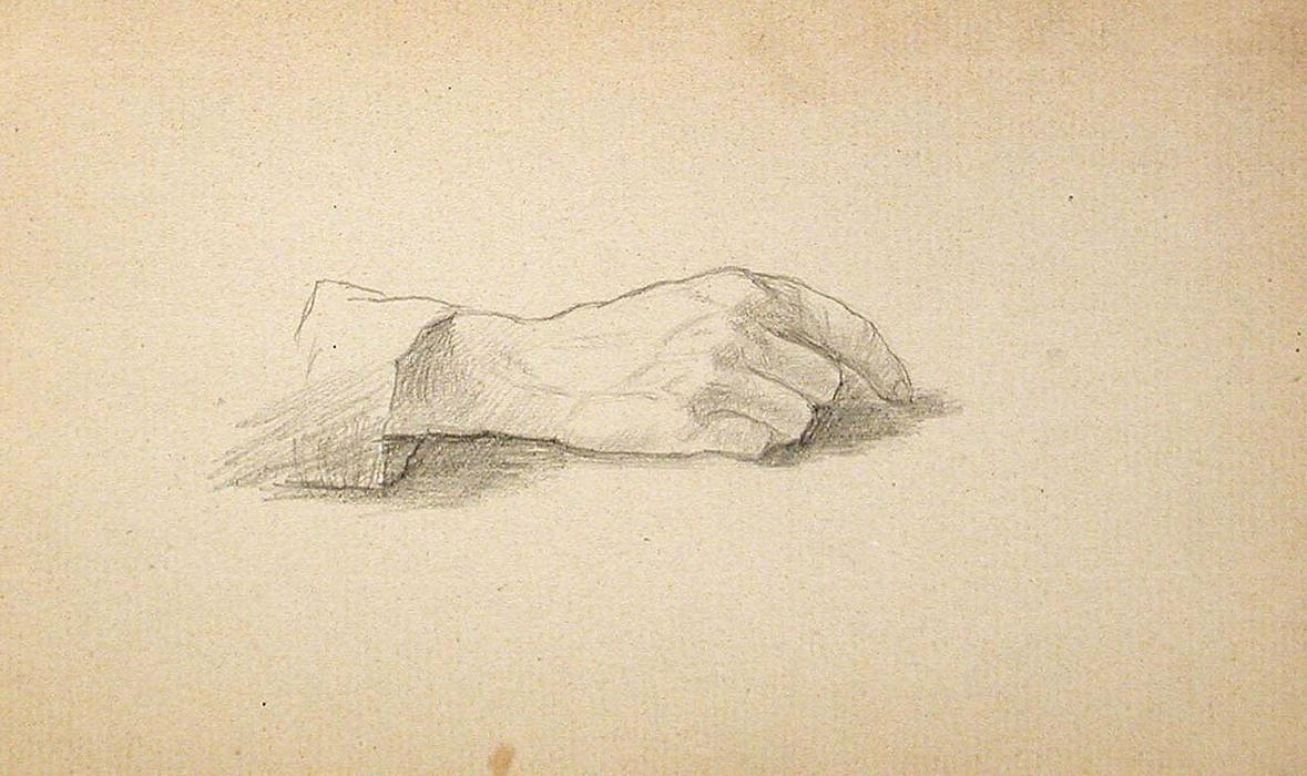 famous painting Hand of John Ottis Adams