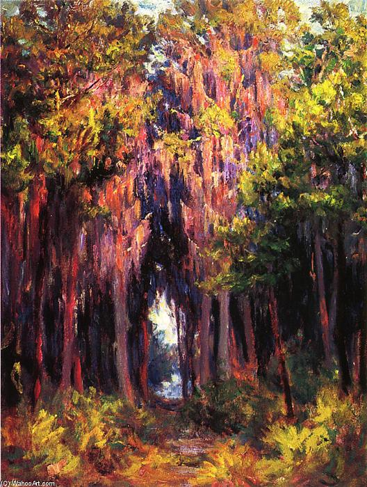 famous painting Hanging Moss, St. Petersburg of John Ottis Adams