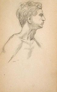 John Ottis Adams - Head and Shoulder Study