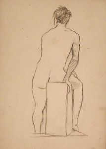 John Ottis Adams - Male Academy Figure 3